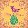 Easter color card — Stock Photo