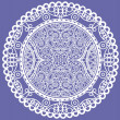 Stock Photo: Lace doily