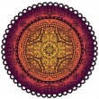 Lace mandala — Stock Photo