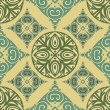 Asian ornament pattern - Stock Photo