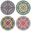 Caleidoskope mandala set — Stock Photo #21791551