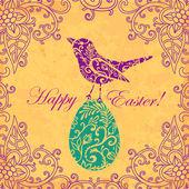 Wielkanoc karta kolorów — Zdjęcie stockowe