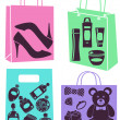 Purchase bags - Stock Photo