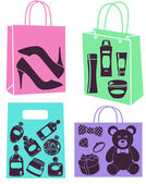 Purchase bags — Stock Photo