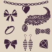 Vrouwen s accessoires — Stockfoto