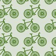 Bicycle pattern — Stock Photo