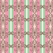 Stock Photo: Wallpaper pattern
