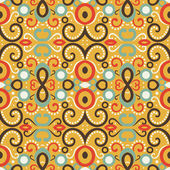 Abstract aztec pattern — Stock Photo