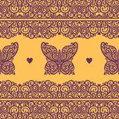 Butterfly pattern — Stock Photo