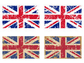 Great Britain's Flag set — Stock Photo