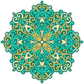 Mandala flower — Stock Photo