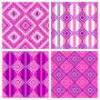 4 pattern set — Stock Photo #31034641