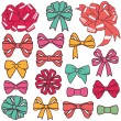 Present bows — Vector de stock #35415843