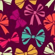 Bows pattern — Vector de stock