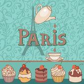 Café de paris — Vector de stock