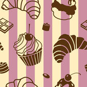 Bake pattern — Stock Vector
