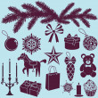 Christmas set — Stock Vector #36262361