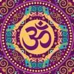 Mandala ohm — Stock Vector #36262375