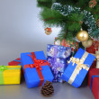Presents under the tree! — Stock Photo