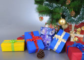Presents under the tree! — Stock Photo