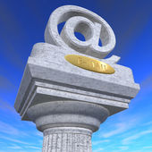 Email column — Стоковое фото
