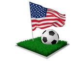 Gli stati uniti calcio — Foto Stock