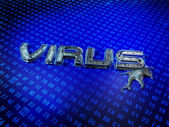 Computer Virus — Stock Photo