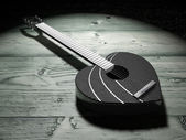 Guitar Heart — Stock Photo