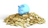 Piggy-bank pile — Stock Photo