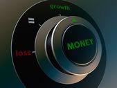 Knob money — Stock Photo