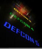 DEFCON 1 2 3 4 5 — Stock Photo
