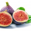 Stock Photo: Ripe fig