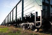 Yapısı, demiryolu araçları. — Stok fotoğraf