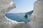 Cala dell'Inferno, Le Forna-Ponza — Stock Photo