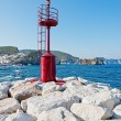 Signal to the port of Ponza — Stock Photo