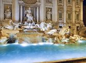 Trevi Fountain, Rome — Stock fotografie