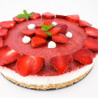Stock Photo: Cheesecake alle fragole