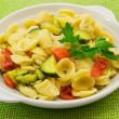 Orecchiette alle verdure — Stock Photo