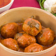 Polpette di carne al sugo - Stock Photo