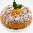 Torta all'arancia - Stock Photo