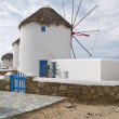 Windmills, Mykonos — Stock Photo