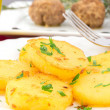 Patate sauté - Stockfoto