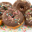 Chocolate Donuts — Stock Photo #18165059