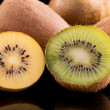 Kiwi gold and green — Stock Photo