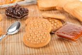 Biscuits for milk — Foto de Stock