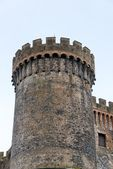 Tower Castle Orsini- Odescalchi — Stock Photo