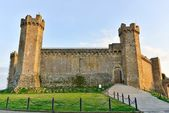 Ancient fortress to Montalcino — Stock Photo