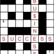 Business Crosswords — Stock Photo