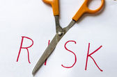 Cutting Risk — Stock Photo