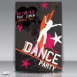 Party design template , Vector Illustration - Stockvectorbeeld